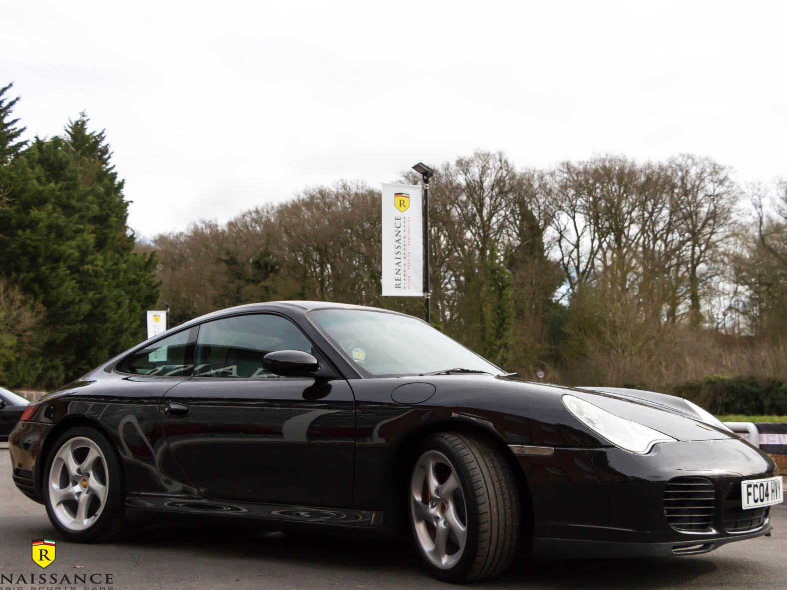 BLACK 996 C4S LEFT US WITH ITS NEW OWNER