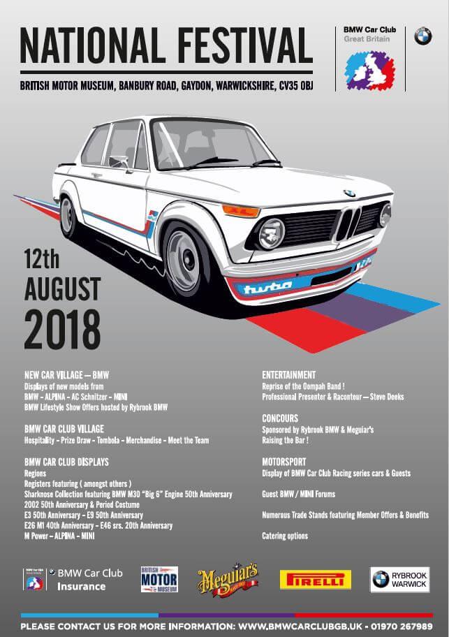 Bmw Car Club Gb National Festival 2018 Renaissance Classic Sports Cars