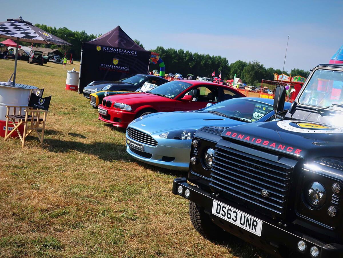 Macmillan's 8th Classic Motor Show & Family Fun Day