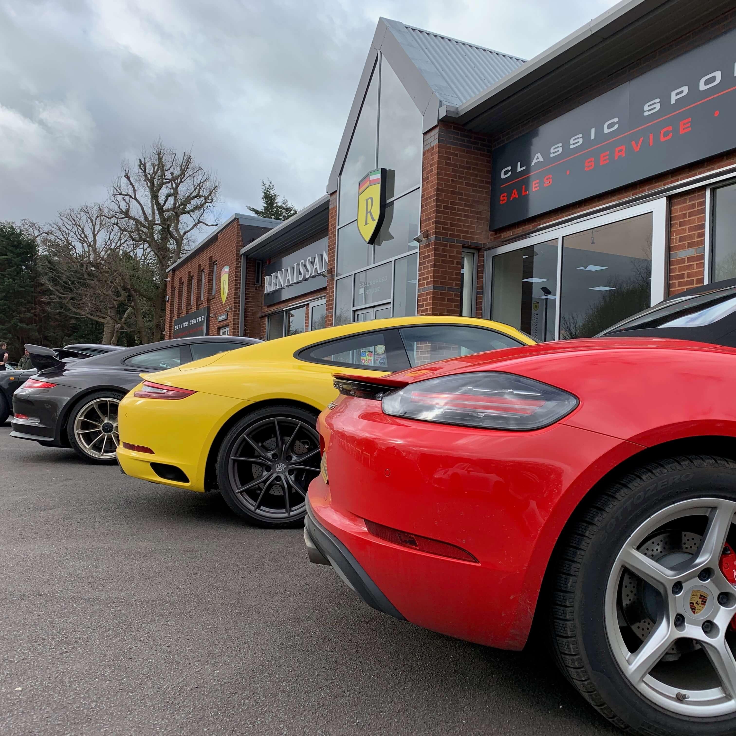 Porsche Club GB - Surrey Region Breakfast Meet
